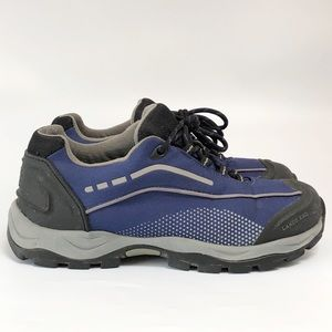 Lands' End Women's Hiking Shoes, SZ 8, Navy blue